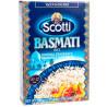 Scotti, Basmati, 0,5 кг, Рис Скотті, Басматі Індійський, довгозернистий