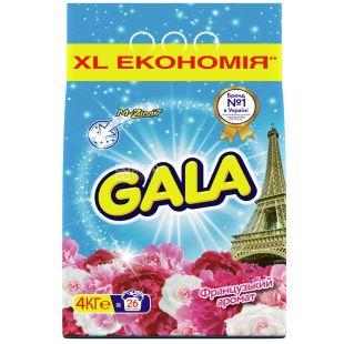 Gala Французский аромат, стиральный порошок, автомат, 4 кг