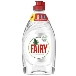 Fairy Pure & Clean, засіб для миття посуду, 450 мл