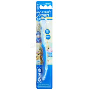 Зубна щітка Oral-B Stages, для дітей, 4-24 місяці, екстра м'яка, 1 шт