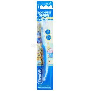 Зубная щетка Oral-B Stages, для детей, 4-24 месяца, экстра мягкая, 1 шт