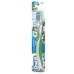 Зубная щетка Oral-B ProExpert Stages 8+, для детей, экстра мягкая, 1 шт
