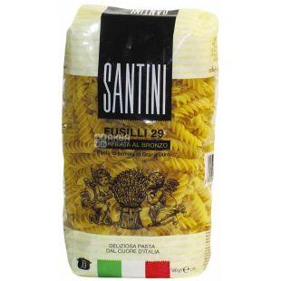 Santini Fusilli №29, 500 г, Макароны Спирали Сантини Фузилли