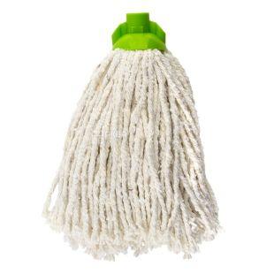 Mop, mop nozzle, cotton, 160 g, 9.5x7 cm