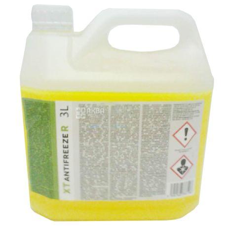 XT ANTIFREEZE R Антифриз желтый -40С, 3 л, канистра