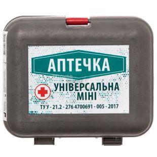 Автомобильная аптечка мини, 13 предметов