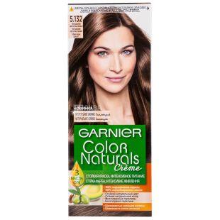 Garnier Color Naturals, Краска для волос, Тон 5.132 Светло-каштановый