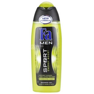 Fa Men Sport Energy Boost Shower Gel 250 ml