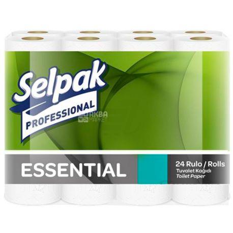 Selpak Professional Essential, 24 рул., Туалетний папір Селпак Профешнл Ессеншл, 2-х шаровий