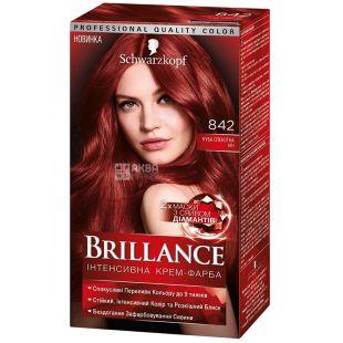 Brillance 842 Куба Жаркая ночь, краска для волос, 142.5 мл
