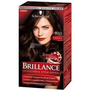 Brillance 880 Темний Каштан, фарба для волосся, 142,5 мл