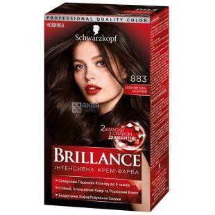 Brillance 883 Элегантный каштан, краска для волос, 142.5 мл
