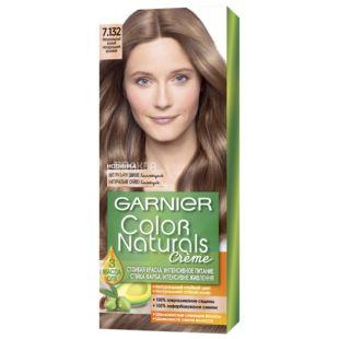Garnier Color Naturals, Краска для волос, Тон 7.132 Натуральный русый
