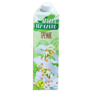 Nemoloko Ideal buckwheat 2.5%, 1 liter, vegetable milk