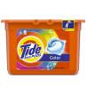 Tide Color, Капсулы гелевые для стирки, 15 шт., пластик