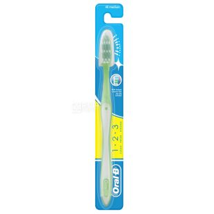 Oral-B 3-Эффект Fresh Strong, Зубная щетка средней жесткости, 1 шт.