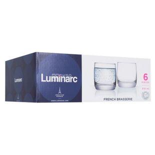 Набір склянок, Luminarc Французький ресторан, низькі, 310 мл, 6 шт.