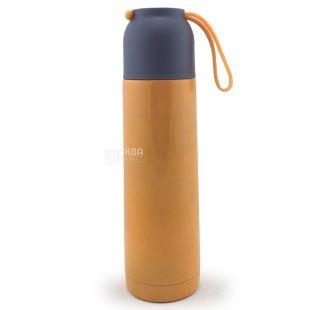 Термос оранжевый, 500 мл
