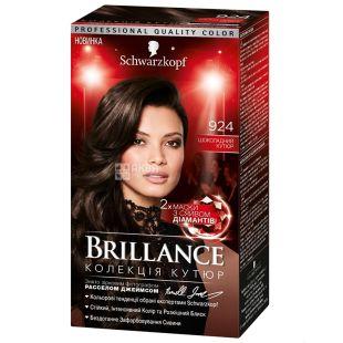 Brillance 924 Шоколадний Кутюр, фарба для волосся, 142.5 мл