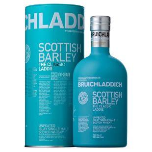 Виски, Bruichladdich classic laddie, 0,7 л, в тубусе