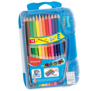 Colored pencils, 15 pieces, TM Maped