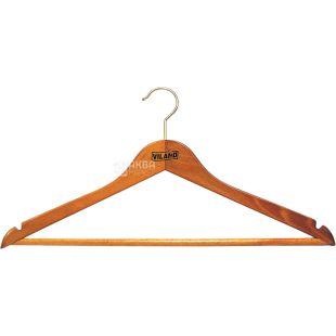 Hanger Viland, for costumes, beech, 44x1.3 cm