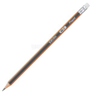 A set of graphite pencils with an eraser, HB, 12 pcs, TM Maped