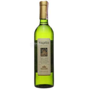 Vardiani Ркацители, Вино белое сухое, 0,75 л