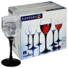 Набір келихів Luminarc Domino для вина, 190 мл, 6 шт.