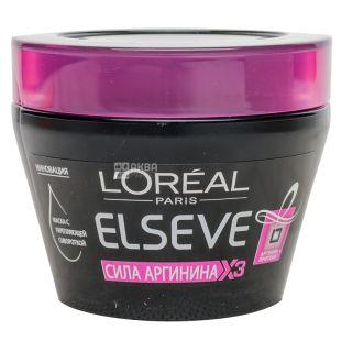 L'Oreal маска для волосся Elseve Сила аргініну х3 300 мл