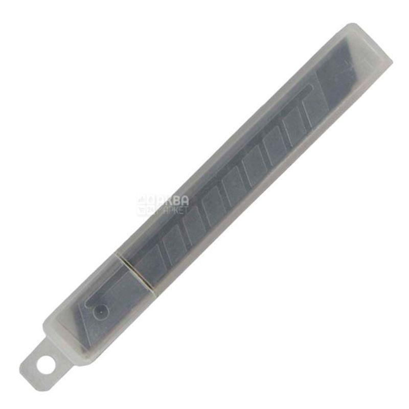 Maped, Лезвия для канцелярского ножа, 9 мм, 10 шт
