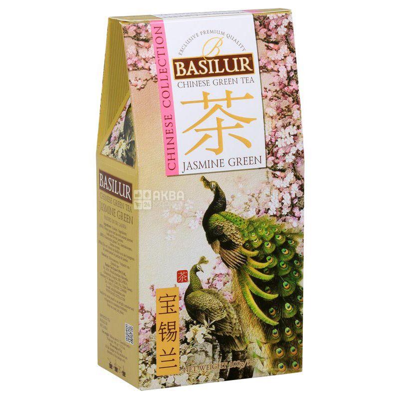 Basilur Букет Жасмин, Чай зеленый китайский, 100 г