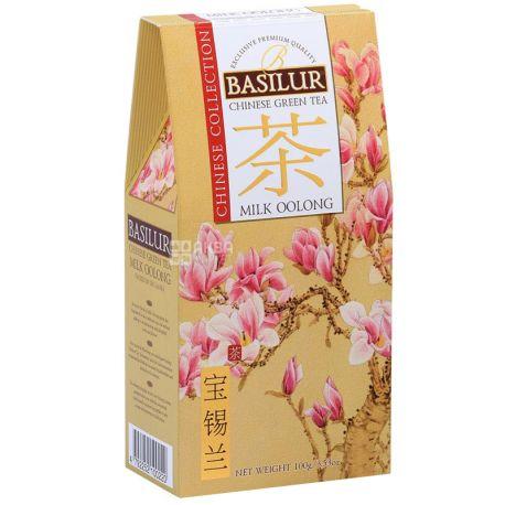 Basilur Milk oolong, 100 г, Чай Базілур, Молочний улун, зелений