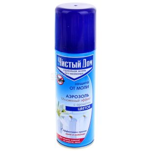 Pure House Moth Spray, 150 ml