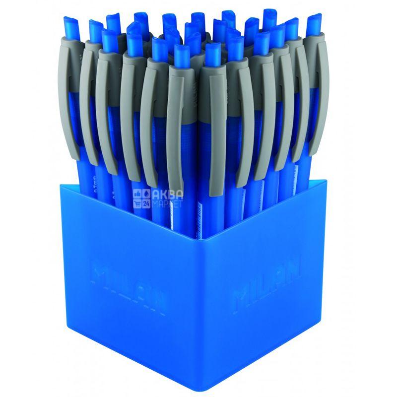 Milan Dry Gel, Ручка гелевая синяя, 0,7 мм, 25 шт