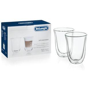 DeLonghi склянки Latte Macchiato 220 мл 2 шт.