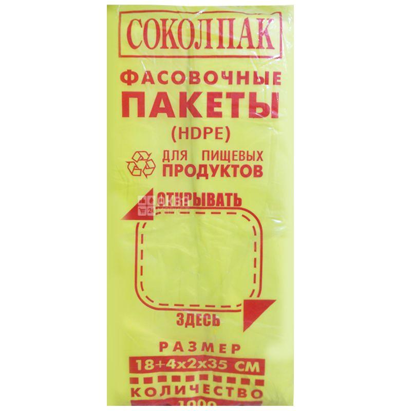 Промтус, Пакет фасовочный, 18х35 см, 1000 шт.