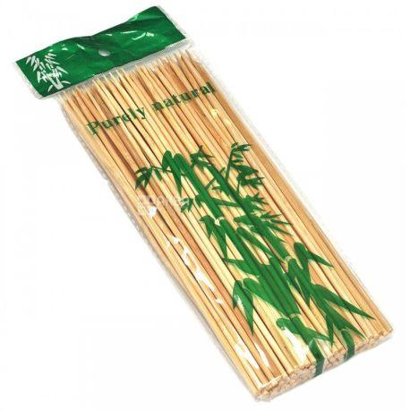 Палочки бамбуковые для шашлыка, 20 см, 100 шт
