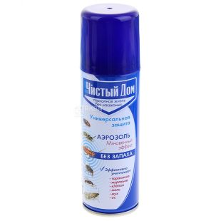 Pure House Aerosol against flying and crawling insects, 150 ml