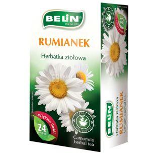 Belin, Rumianek, 20 пак., Чай Белин с ромашкой, травяной