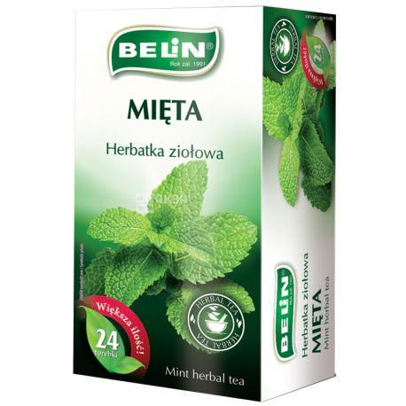 Belin Мята, Чай пакетированный, 24 пак