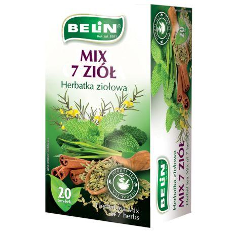 Belin 7 трав, Чай пакетированный, 20 пак