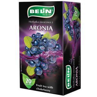 Belin, Aronia, 20 пак., Чай Белин, Черноплодная рябина, фруктовый