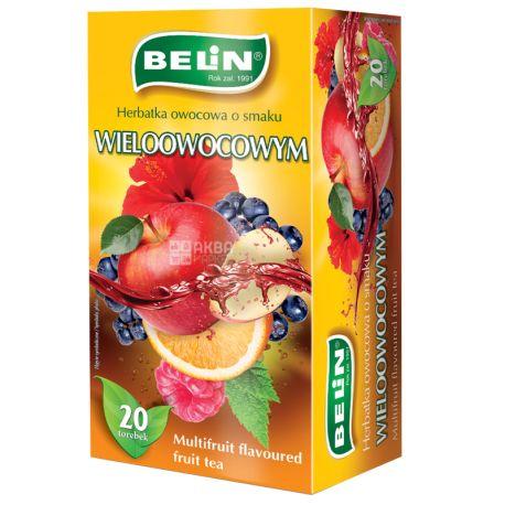 Belin Мультифрукт, Чай пакетированный, 20 пак