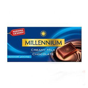 Шоколад Millennium, 100 г, молочный