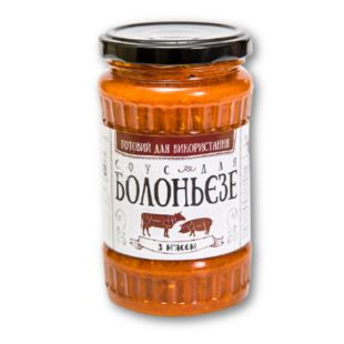 Sauce Recipes Aunt Ajj For bolognese, with beef and pork, 340 g