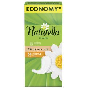 Naturella Camomile Light Deo Прокладки ежедневные, 34 шт