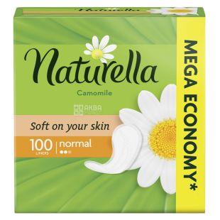 Naturella Camomile Normal Deo, Ежедневные прокладки, 2 капли, 100 шт.