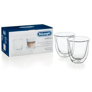 DeLonghi стаканы Cappuccino 190 мл 2 шт.