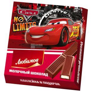 Lyubimov Kids Disney, Milk Chocolate with Milk Filling, 50 g